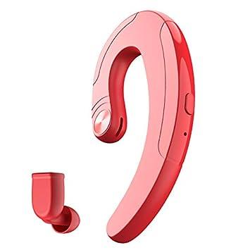 Auriculares bluetooth del gancho para la oreja, conducción de los deportes auricular inalámbrico de Bluetooth de la conducción del hueso, ...