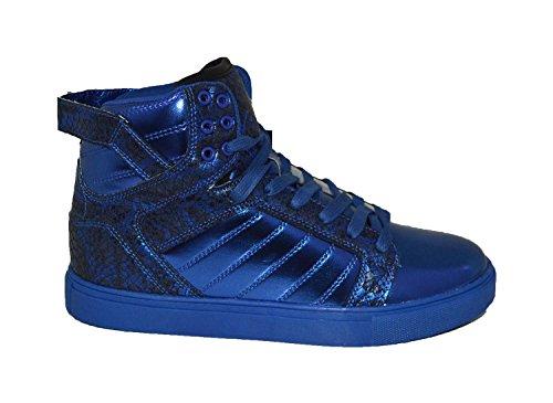 Metallic High Top Sneaker - 9