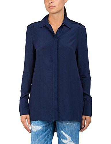 Mujer Azul 880 Langarm Bluse blue Replay q4FwEx0x