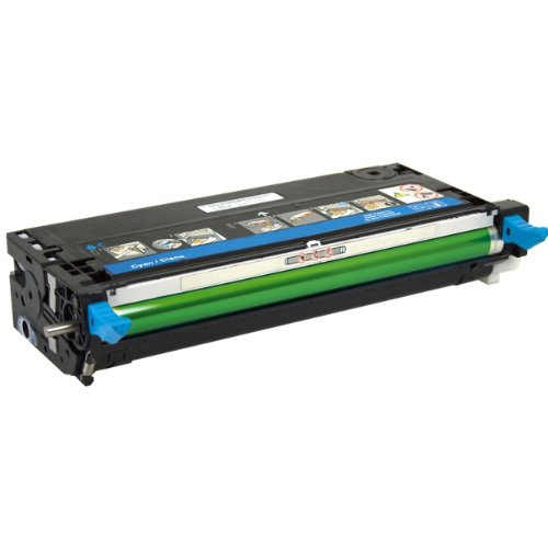(HQ Supplies Dell 3115 3115cn Cyan High Yield Professional Remanufactured Toner Cartridge (310-8094))