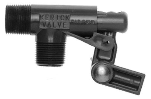 Kerick Valve PS75LS PVC Float Valve, Standard Mount, 16.5 gpm at 60 psi, 3/4'' NPT Male by Kerick Valve