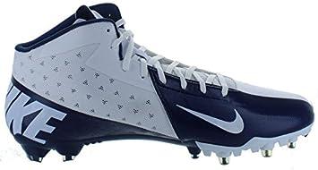 Nuevo. Nike Vapor Elite Talon 3 4 tacos de fútbol azul marino azul y ... 00793c2fe1d69