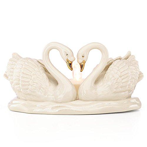 Lenox Everlasting Embrace Swan Votive by Lenox