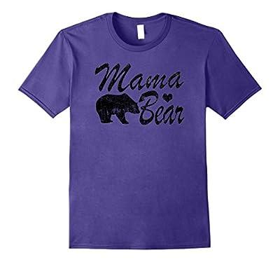 Mama Bear T-Shirt For Women: Mama Love Bear
