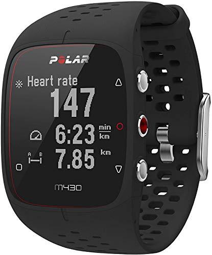 Polar M430 Reloj de Running con GPS y Frecuencia cardíaca en la muñeca – Multideporte – actividad 24/7 – Negro, M/L