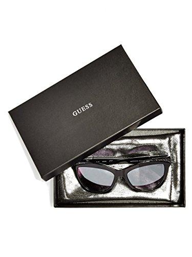 Guess lunette cateye Diamante en noir GU7479-S 01C 56 Grey Black