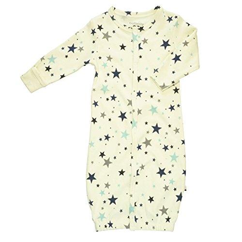 Babysoy Star Bundler/Gown (Mix 6, 6-9 Months)