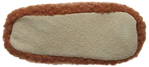 Woolsies Hedgehog Natural Wool, Pantuflas Unisex Adulto Rojo (Red)