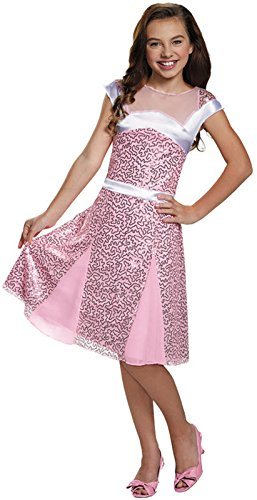 Disguise 88146K Audrey Coronation Deluxe Costume, Medium (7-8) - Descendants Mal Coronation Costume