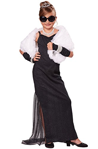 Costume Celebrity Halloween (California Costumes Hollywood Diva Costume, One Color,)