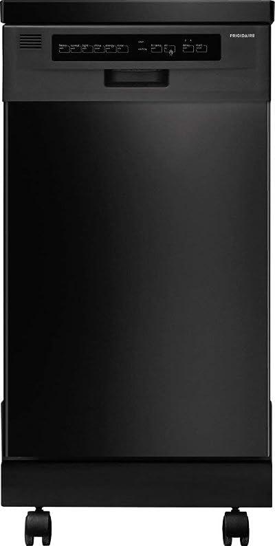 "FFPD1821MB 18"" Fully Integrated Portable Dishwasher"