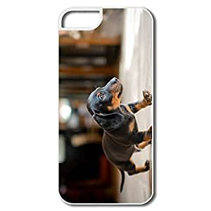 lintao diy Alice7 Puppy Case For Iphone 5,Quotes Iphone 5 Case