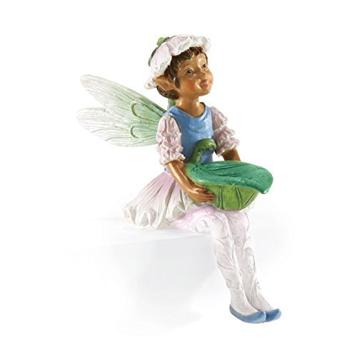 Department 56 Garden Guardians Imma Fairy Figurine, 4 inch