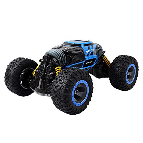 Rabing RC Car,FLYZOE Stunt Car 2.4Ghz 4WD High Speed Racing 2-Sided Flip Stunt Road Vehicle Monster Trucks Rock Buggy Car