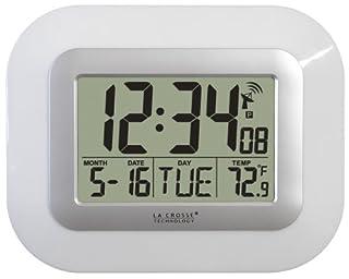 La Crosse Technology WT-8005U-W Atomic Digital Wall Clock (B002VRUN2U) | Amazon price tracker / tracking, Amazon price history charts, Amazon price watches, Amazon price drop alerts