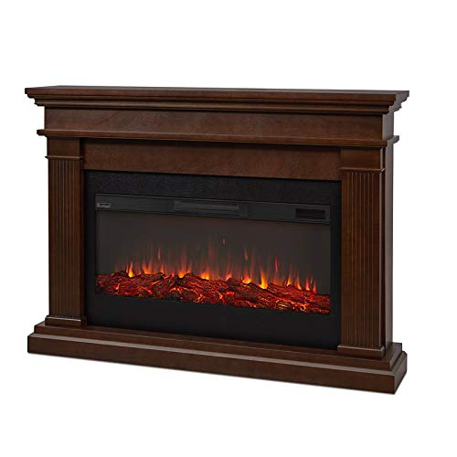 Real Flame Beau Electric Fireplace, Dark Walnut ()