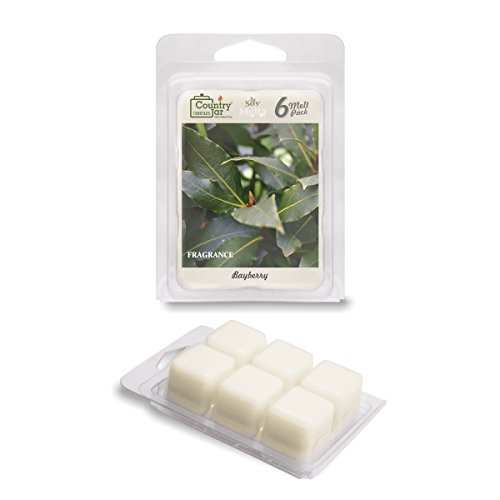 Country Jar Bayberry Wax Melts, 2.75 oz. 6-Cube Pack / Natural - Brands All Code Promo Glasses