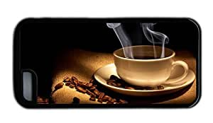 Hipster best iPhone 5C cover hot coffee steam Black for Apple iPhone 5C