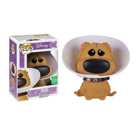 Funko Pop! Disney 202 Up Dug with Cone Of Shame -