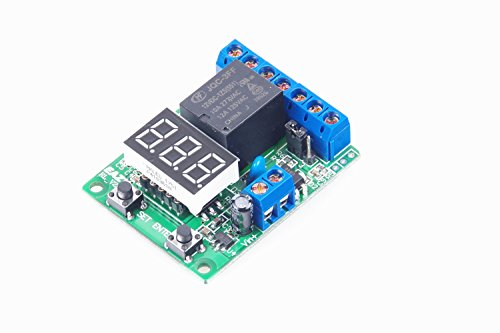 KNACRO Voltage Control Relay/Signal timing start/trigger timer/Auto 5V time delay relay/VT2.3 (DC 12V)