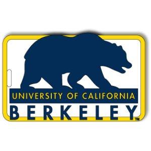 aminco NCAA California Golden Bears Soft Bag Tag ()