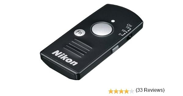Nikon WR-T10 - Mando a Distancia para cámaras de Foto, Negro ...