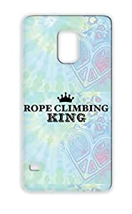 Black Anti-drop Sports Miscellaneous TPU For Sumsang Galaxy S5 Rope Climbing King Case