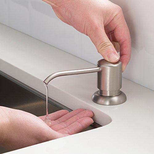 Kraus Spot Free Kitchen Soap Dispenser Boden in all-Brite Stainless Steel Finish, KSD-53SFS