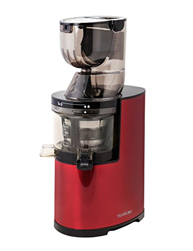 Wine Preserving System (Slow Masticating Juicer extractor by Tiluxury with Low Speed Wide Chute Anti-Oxidation Vertical Cold Press Juicer (40 RPMs, 3