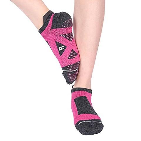 Codream Women Running Socks Wicking Anti Blister Marathon Athletic Socks M to L - Anti Blister Double Layer Cool