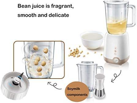 DJ Home Fruta Exprimidor de Frutas para el hogar Máquina mezcladora de Alimentos para Alimentos pequeños Leche de Soja exprimida multifunción Polvo molido Carne molida