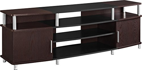 "Ameriwood Home Carson TV Stand for TVs up to 70"" Wide (Cherry) from Ameriwood Home"
