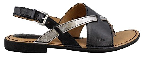 Women's B.O.C, Lowery Sandal Black/Pewter 7 M ()