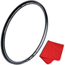 49mm X1 UV Filter For Camera Lenses - Ultraviolet Protection Photography Filter with Lens Cloth - MRC4, Ultra-Slim, 25 Year Support, Weather-Sealed by Breakthrough Photography