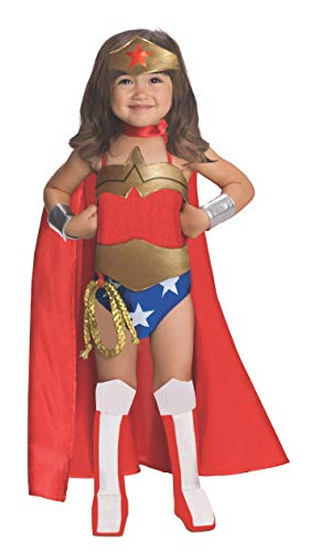 Comic Book Makeup Halloween Costume (Rubies DC Super Heroes Collection Deluxe Wonder Woman Costume, Small)