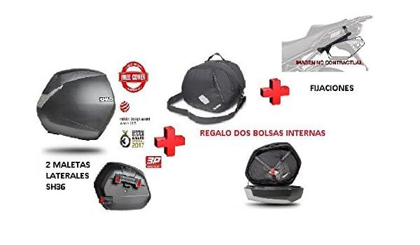 Kit SHAD fijacion 3P + Maletas Laterales SH36 + Bolsas BMW ...