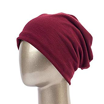 1d118599e2f Geebro Men Women Beanie Knitted Ribbed Beanies Hat Winter Cap Solid Color  Hip-hop Slouch Hats Skullies chapeu Feminino DQ400B  Amazon.in  Beauty
