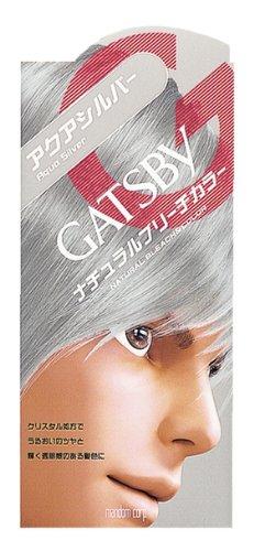 アクアシルバー メンズ セルフカラー 市販ヘアカラーの髪色