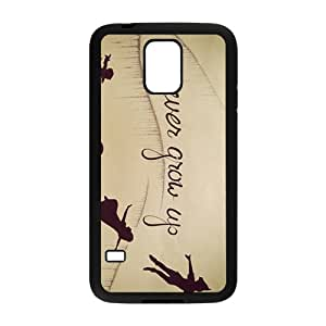 Never Grow Up Fashion Comstom Plastic case cover For Samsung Galaxy S5