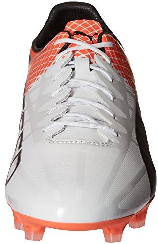 Scarpe da calcio uomo Evospeed SL-S II FG, Puma Bianco-Puma Occhiali da sole nero shocking, 13 M US