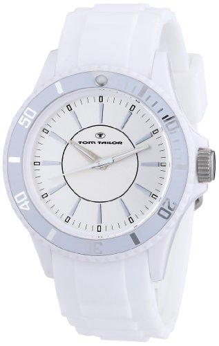 TOM TAILOR Unisex-Armbanduhr Analog Quarz Silikon 5407905