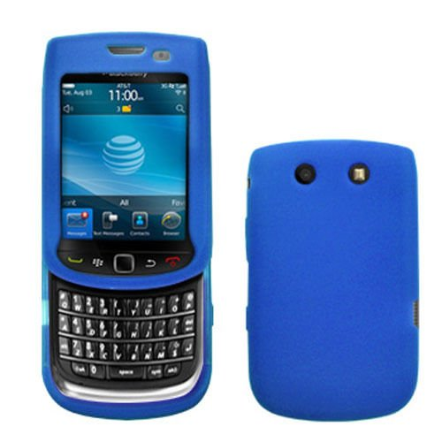 Silicone Skin Case for Blackberry Torch 9800/9810 - Blue Blackberry Torch Silicone Skin