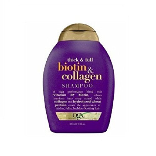 Ogx Shampoo Biotin  Collagen 13 Ounce (384ml) (3 Pack)