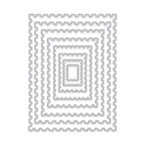Hero Arts DI345 Infinity Dies, Nesting Postage Stamps