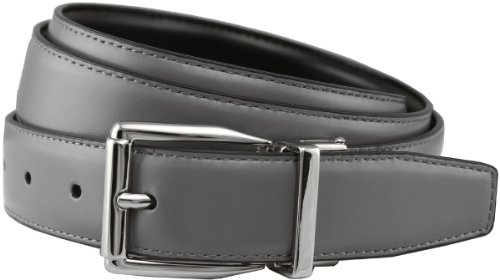 Stafford Reversible Smooth Leather Dress Belt 1-1/8
