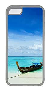 iPhone 5C Case,Lipe Island Thailand TPU Custom iPhone 5C Case Cover Transparent