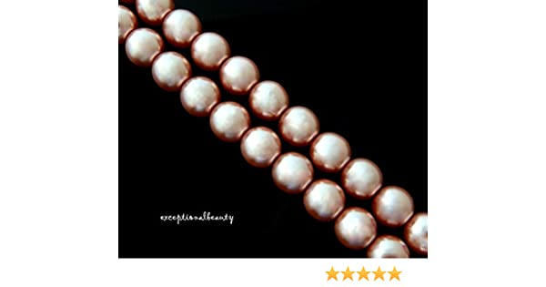 Genuine  Preciosa Czech Glass Pearls  8mm 35 pearls