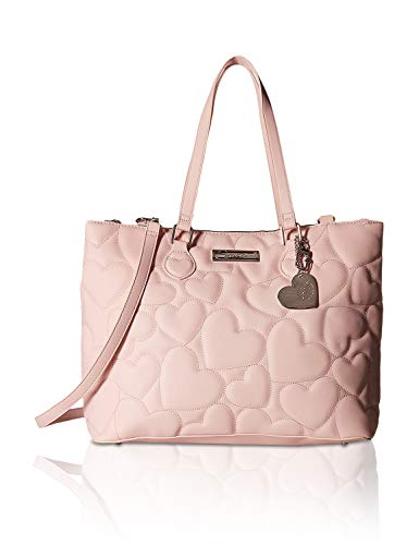Betsey Johnson Women's Triple Compartment Satchel Pink One Size