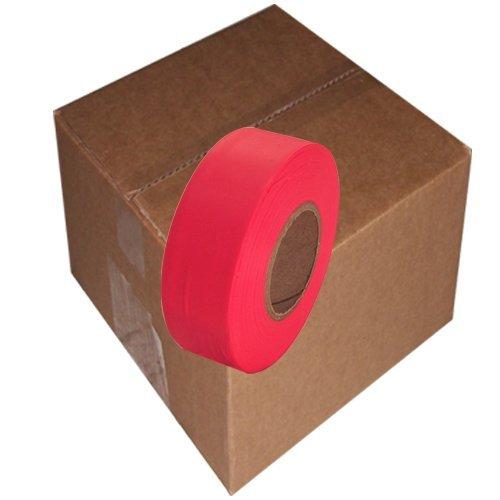 Flaggingテープ1 – 3 / 16 インチ 非粘着プラスチックリボン B0041P5L4K Orange 12 Case Orange 12 Case