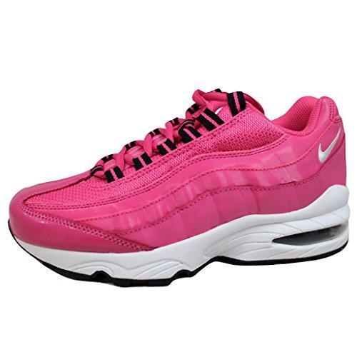 Nike Grade School Air Max '95 Le Deseert Pink/White-Black 310830-600 Shoe 4.5Y M US (Pink Black 95 Max Air And)